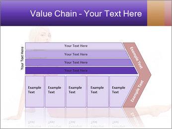 Sitting Woman in Pink Bikini PowerPoint Templates - Slide 27