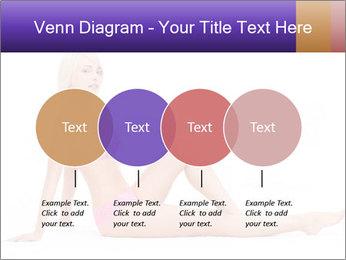 Sitting Woman in Pink Bikini PowerPoint Templates - Slide 32