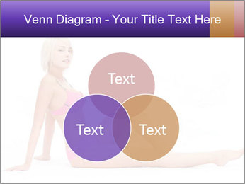 Sitting Woman in Pink Bikini PowerPoint Templates - Slide 33