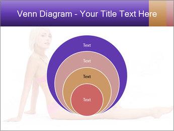 Sitting Woman in Pink Bikini PowerPoint Templates - Slide 34