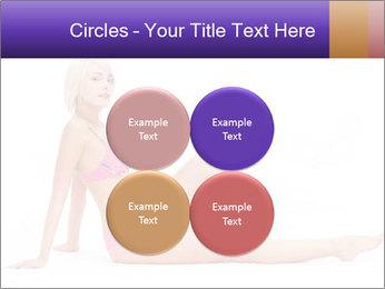 Sitting Woman in Pink Bikini PowerPoint Templates - Slide 38