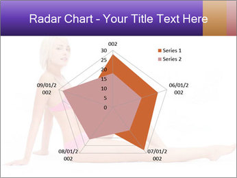 Sitting Woman in Pink Bikini PowerPoint Templates - Slide 51