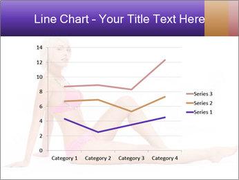 Sitting Woman in Pink Bikini PowerPoint Templates - Slide 54