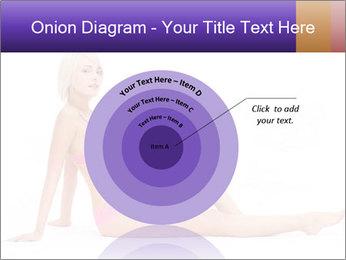 Sitting Woman in Pink Bikini PowerPoint Templates - Slide 61