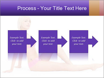 Sitting Woman in Pink Bikini PowerPoint Templates - Slide 88