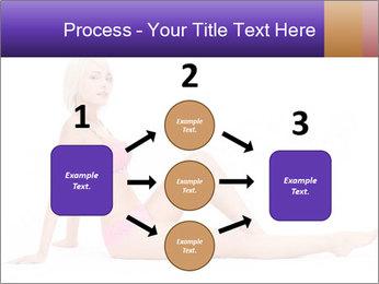Sitting Woman in Pink Bikini PowerPoint Templates - Slide 92