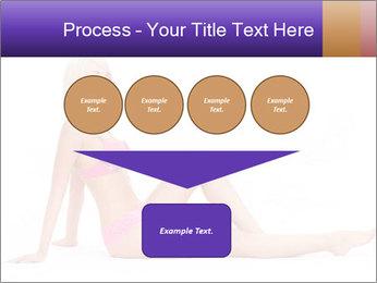 Sitting Woman in Pink Bikini PowerPoint Templates - Slide 93