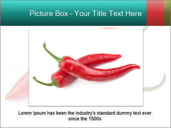 Two Hot Chili Peppers PowerPoint Template - Slide 15