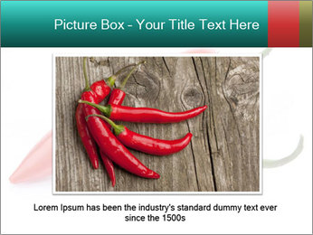 Two Hot Chili Peppers PowerPoint Template - Slide 16
