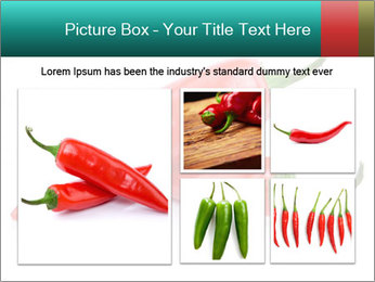 Two Hot Chili Peppers PowerPoint Template - Slide 19