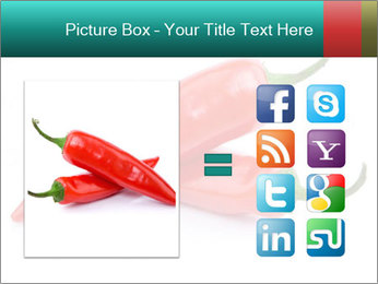Two Hot Chili Peppers PowerPoint Template - Slide 21
