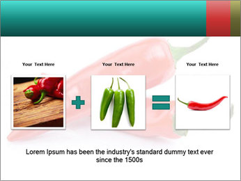 Two Hot Chili Peppers PowerPoint Template - Slide 22