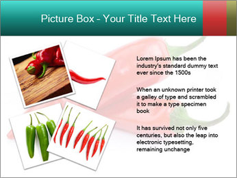 Two Hot Chili Peppers PowerPoint Template - Slide 23
