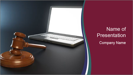 IT Crime PowerPoint Template