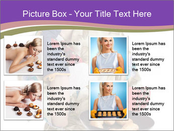 Housewife Baking Cookies PowerPoint Templates - Slide 14