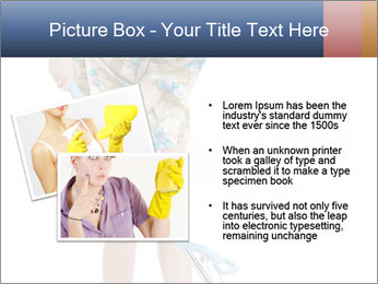 Young Wife Housekeeping PowerPoint Templates - Slide 20