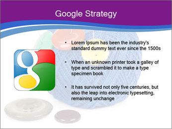 Ball of Blue Threads PowerPoint Templates - Slide 10