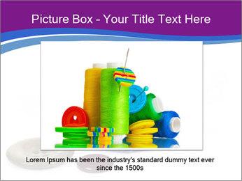 Ball of Blue Threads PowerPoint Templates - Slide 15