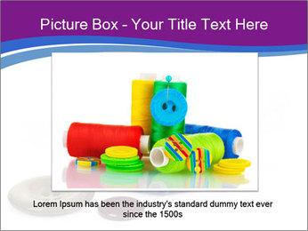 Ball of Blue Threads PowerPoint Templates - Slide 16