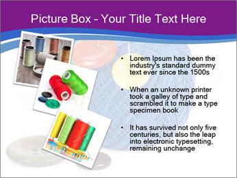Ball of Blue Threads PowerPoint Templates - Slide 17