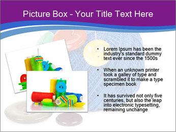 Ball of Blue Threads PowerPoint Templates - Slide 20