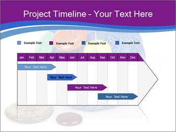 Ball of Blue Threads PowerPoint Templates - Slide 25