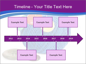 Ball of Blue Threads PowerPoint Templates - Slide 28