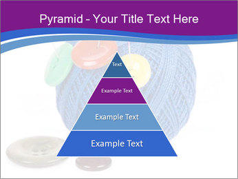 Ball of Blue Threads PowerPoint Templates - Slide 30