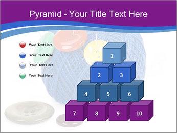 Ball of Blue Threads PowerPoint Templates - Slide 31