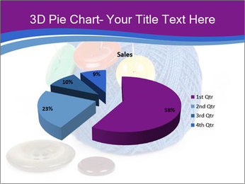 Ball of Blue Threads PowerPoint Templates - Slide 35
