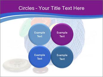 Ball of Blue Threads PowerPoint Templates - Slide 38