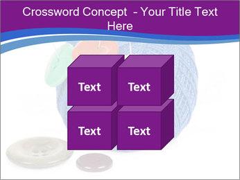 Ball of Blue Threads PowerPoint Templates - Slide 39