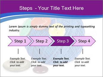 Ball of Blue Threads PowerPoint Templates - Slide 4