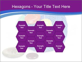 Ball of Blue Threads PowerPoint Templates - Slide 44