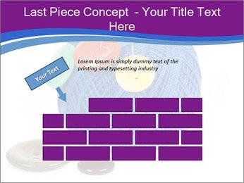 Ball of Blue Threads PowerPoint Templates - Slide 46