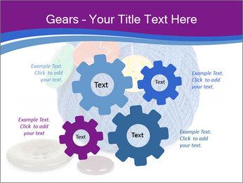 Ball of Blue Threads PowerPoint Templates - Slide 47