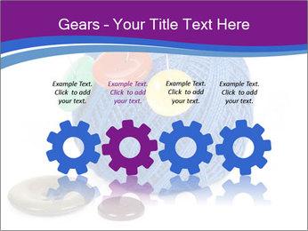 Ball of Blue Threads PowerPoint Templates - Slide 48