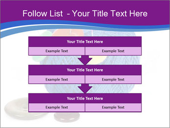 Ball of Blue Threads PowerPoint Templates - Slide 60