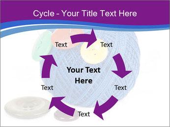Ball of Blue Threads PowerPoint Templates - Slide 62
