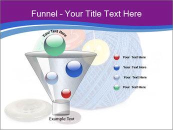 Ball of Blue Threads PowerPoint Templates - Slide 63