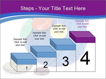 Ball of Blue Threads PowerPoint Templates - Slide 64