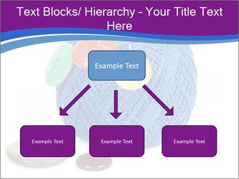 Ball of Blue Threads PowerPoint Templates - Slide 69