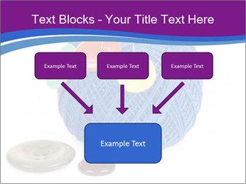 Ball of Blue Threads PowerPoint Templates - Slide 70