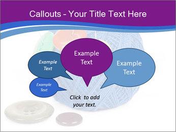 Ball of Blue Threads PowerPoint Templates - Slide 73