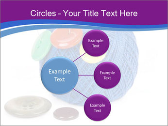 Ball of Blue Threads PowerPoint Templates - Slide 79