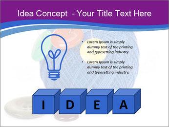 Ball of Blue Threads PowerPoint Templates - Slide 80