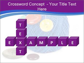 Ball of Blue Threads PowerPoint Templates - Slide 82