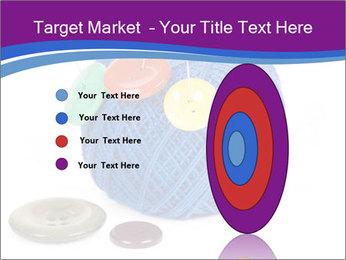 Ball of Blue Threads PowerPoint Templates - Slide 84