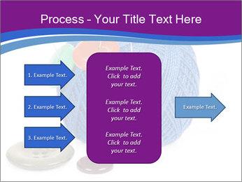 Ball of Blue Threads PowerPoint Templates - Slide 85