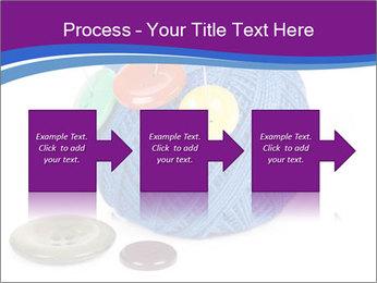 Ball of Blue Threads PowerPoint Templates - Slide 88